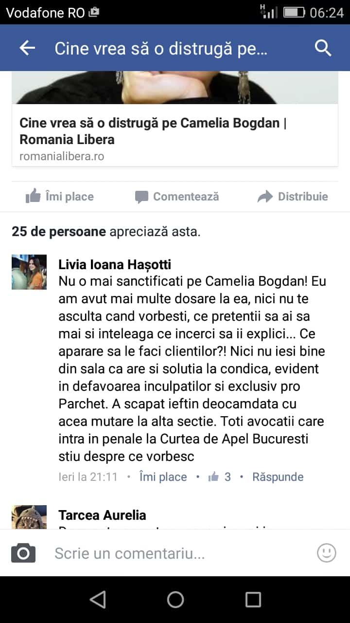 Livia comentariu