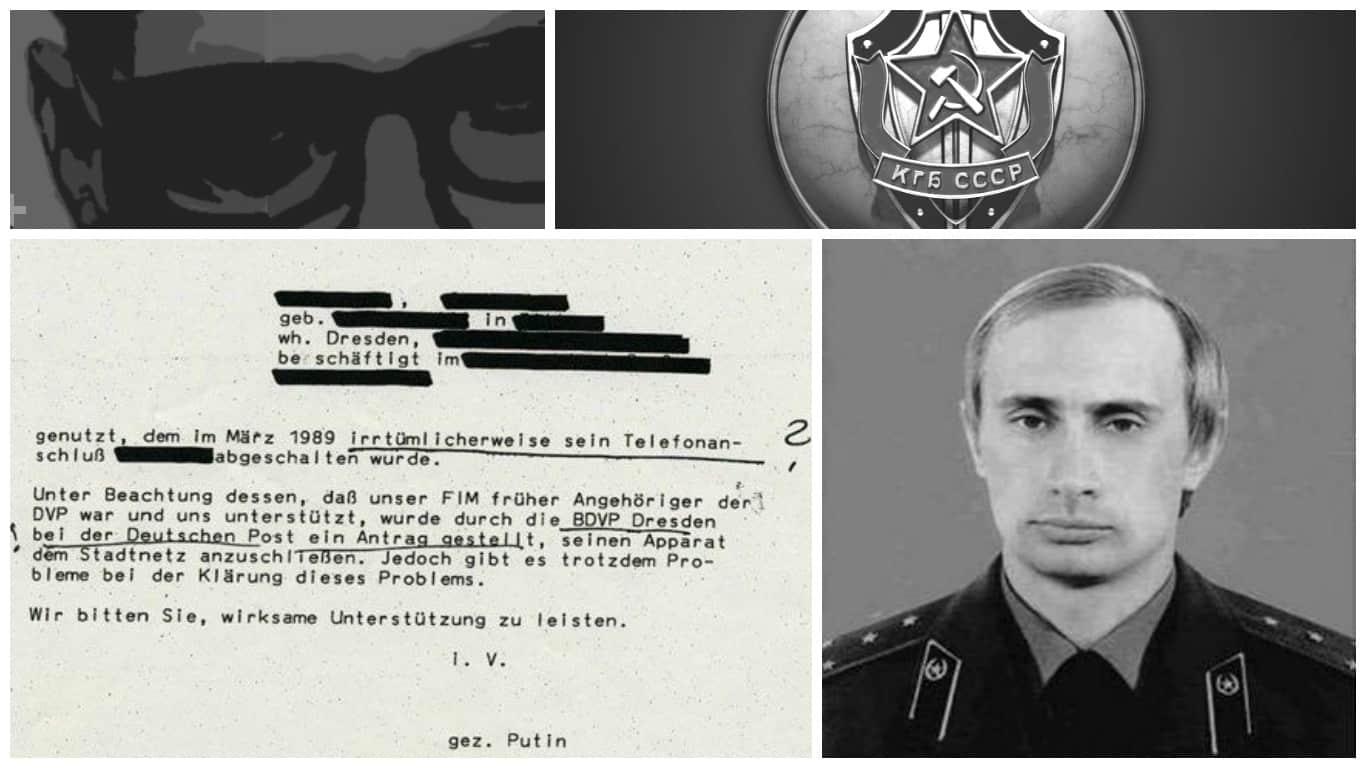Putin STASI