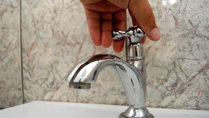apa cu presiune scazuta