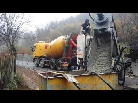 rigole de beton