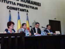 Ședință solemnă a CJ Constanța pentru sărbătorirea a 100 de ani de la unirea Basarabiei cu România