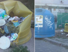 VANDALIZARE. 16 containere Polaris au fost incendiate de căutătorii de Pet-uri