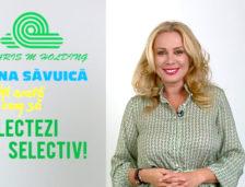 """Dana Săvuică într-un videoclip realizat pentru Polaris: """"Nu uita că, dacă reciclezi, oferi o gură de oxigen planetei. De care avem atâta nevoie!"""""""