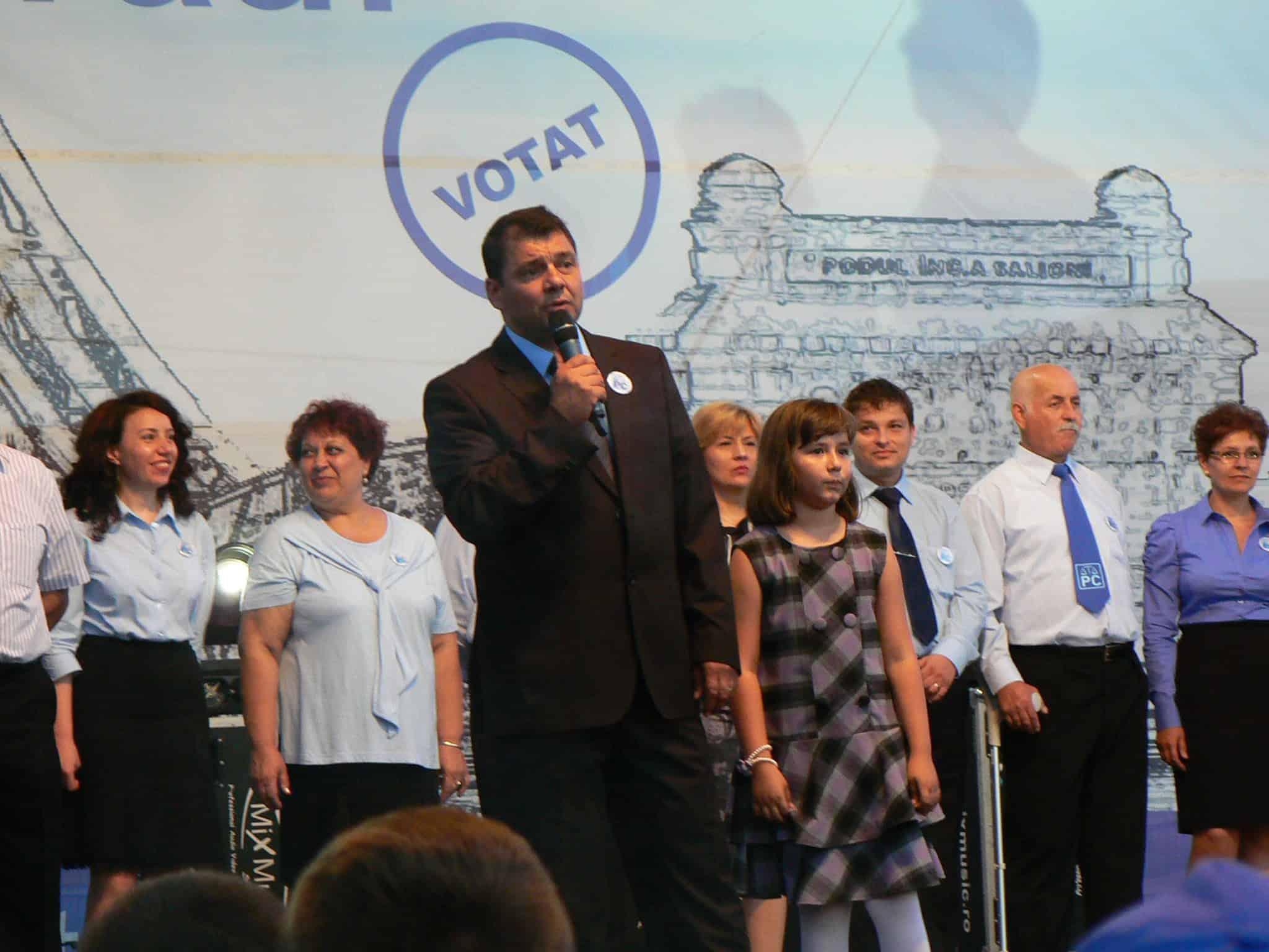 Liviu Dan campanie