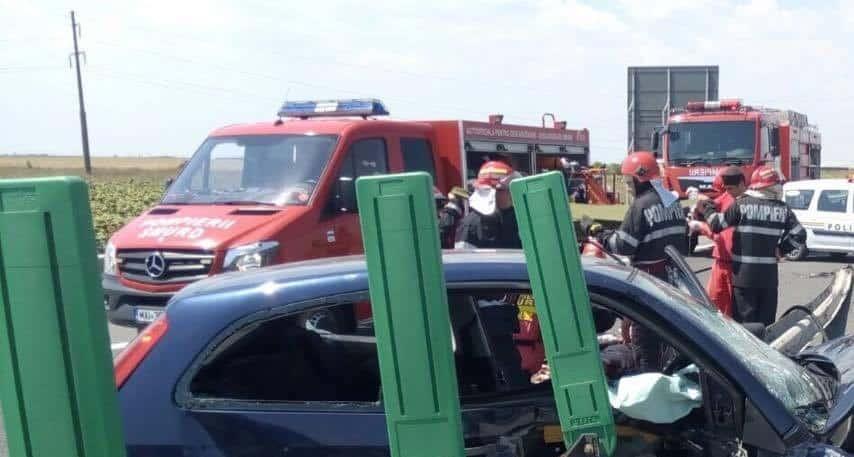 accident autostrada a42