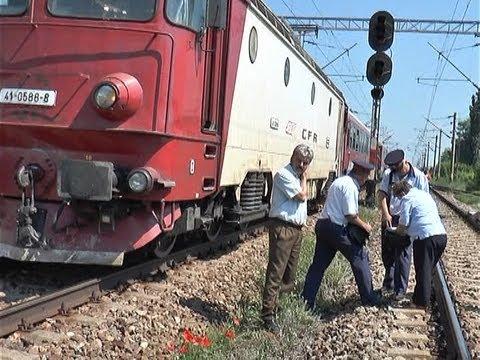 accident pe calea ferata