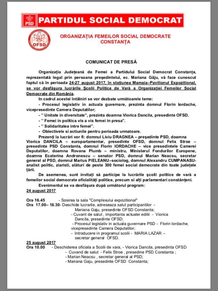 program PSD1