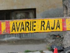 Avarie pe strada B.P.Hașdeu din Constanța
