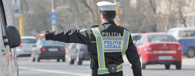 politia locala in trafic