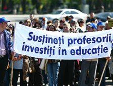 Sindicatele din învățământ încep protestele