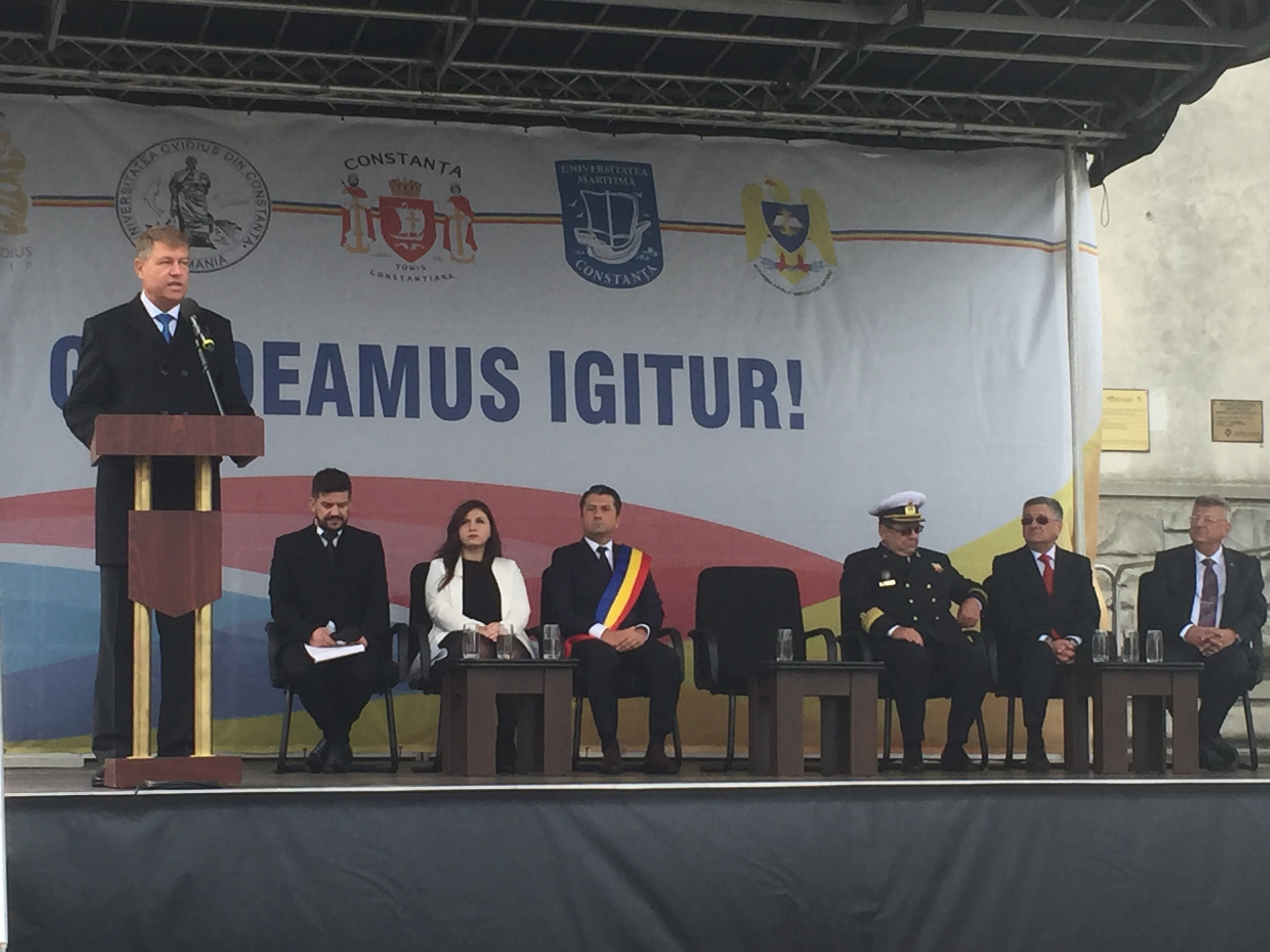 Iohannis – deschidere an universitar Constanta