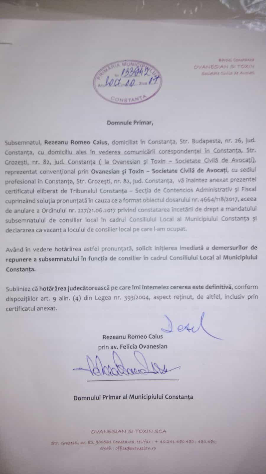 document Rezeanu