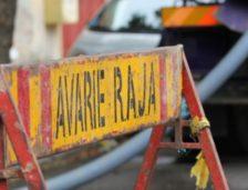 Avarie RAJA pe strada Ciprian Porumbescu din Constanța