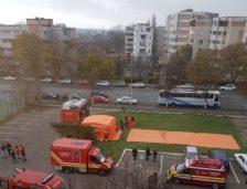 Zeci de persoane evacuate de urgență! A fost simulare de incendiu la spital!