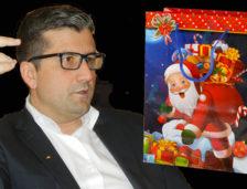 Sacul lui Moș Crăciun, adus la Constanța de nepotul ministrului ceaușist Postelnicu