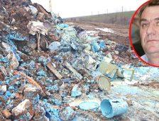 Video. Dezastru ecologic la Pecineaga, lângă un pâlc de pădure