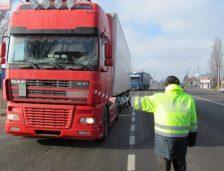 Echipa mobilă a SPIT verifică transportatorii de marfă