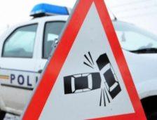 Accident rutier la intrarea pe Autostrada A2! Sunt mai multe victime