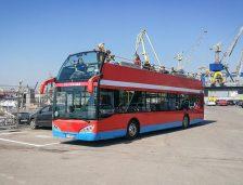 City Tour în portul Constanța cu autobuzul supraetajat