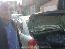 Urmărire pe străzile Constanței pentru prinderea unui contrabandist de țigări