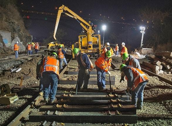 lucrari de reabilitare calea ferata