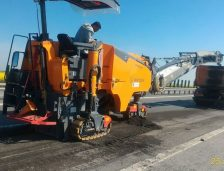 CNAIR a cheltuit mii de lei pentru a face unele reparaţii pe Autostrada A2