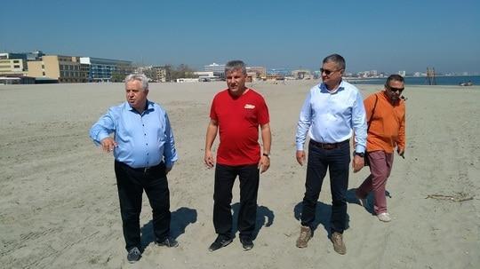 ministrul denes – control pe litoral