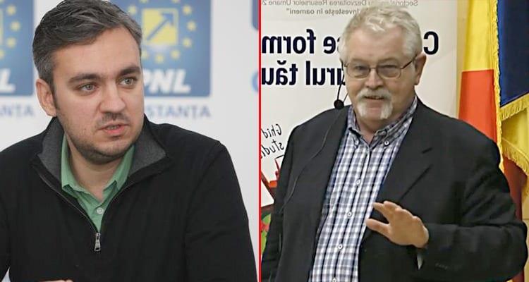 montaj George Niuclescu – Anton Anton ministrul Energiei
