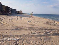 (foto + video) Plaja de la Tabăra de copii din Eforie Sud, reabilitată
