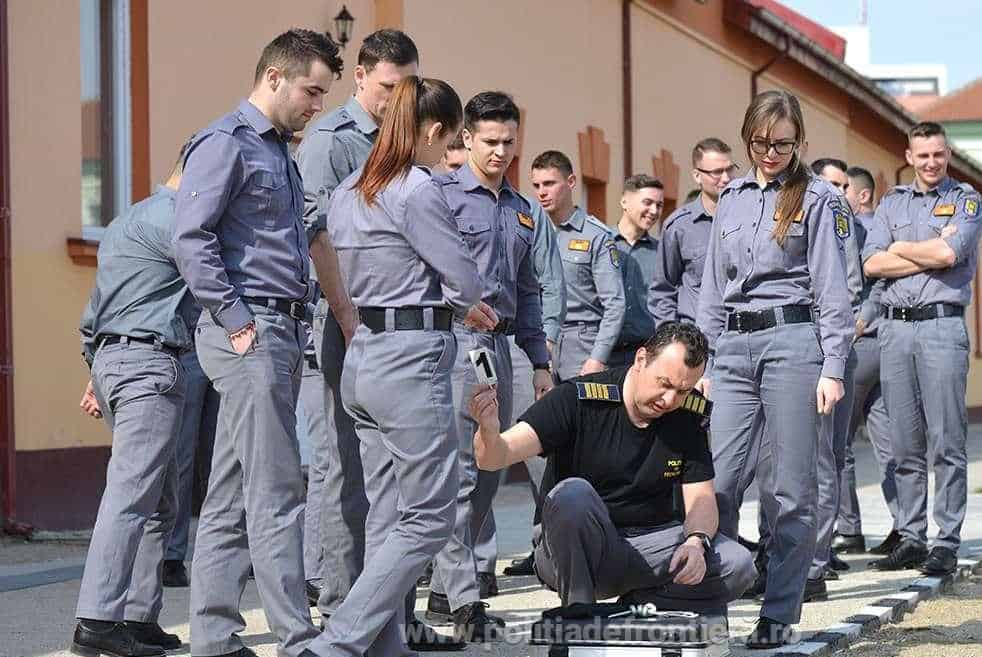 politist de frontiera candidati