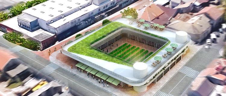 proiect modernizare Piata Grivitei