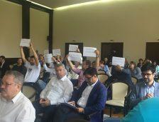 USR, protest în ședința CL Constanța. Au cerut respingerea unei construcții langă parcul Tăbăcărie