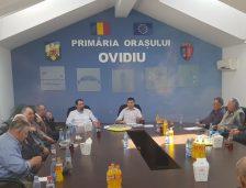 Ovidiu: O nouă întâlnire a primarului George Scupra cu Sfatul Bătrânilor