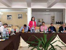 Medgidia. Lăsată de Vrabie fără atribuții, birou și mașină, Luminița Vlădescu are susținerea totală a PSD