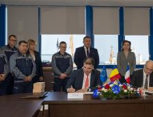 Acord semnat între Santierul Naval Constanţa şi compania franceză Naval Group