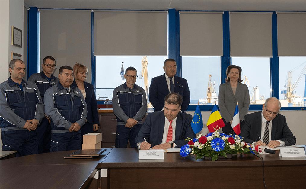 semnare contract vla santierul naval constanta