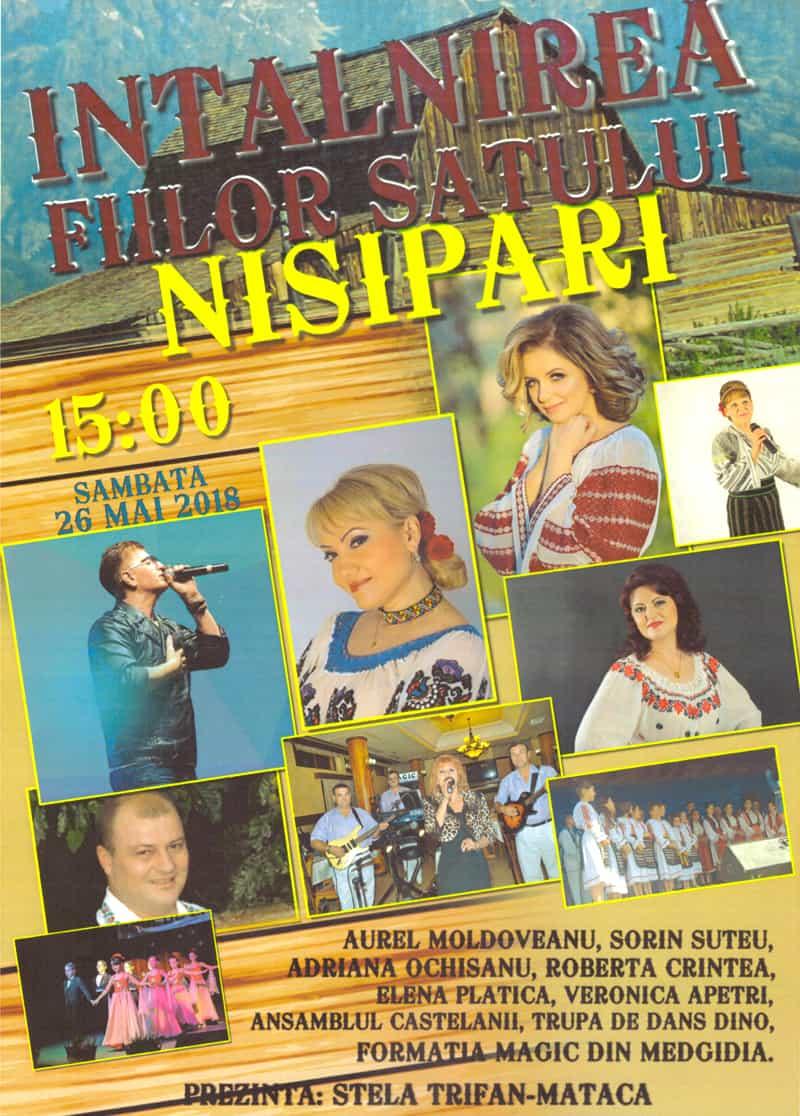 Afis Intalnirea FiilorSatului Nisipari