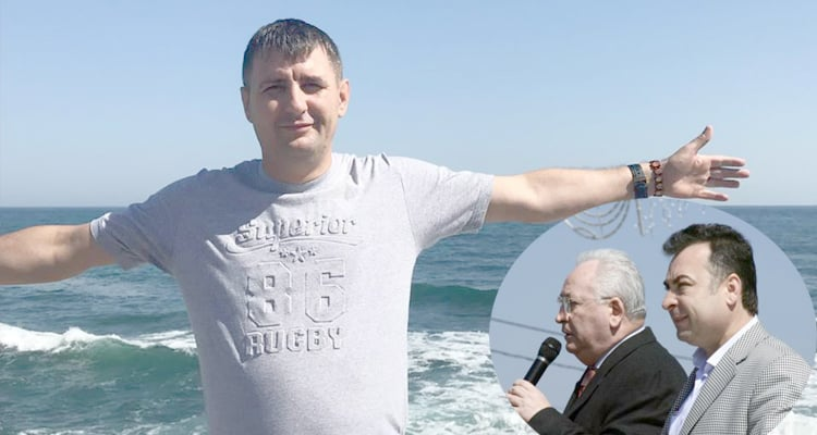 Isidor Gurgu plus medalion Matei si Puiu Hasotti