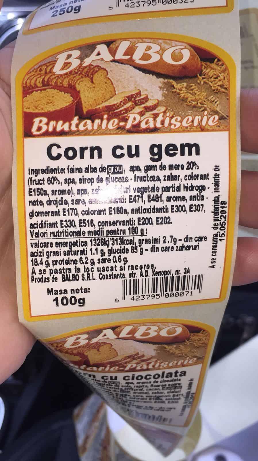 OPC control fabrica de paine BALBO9