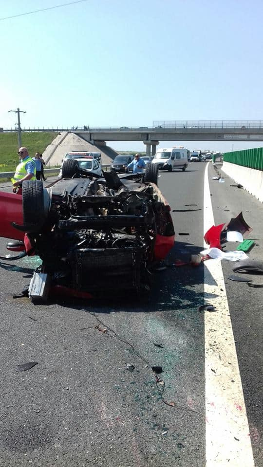 accident autostrada soarelui