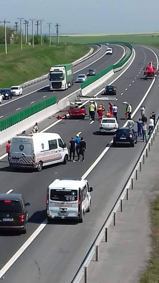 accident rutier autostrada soarelui