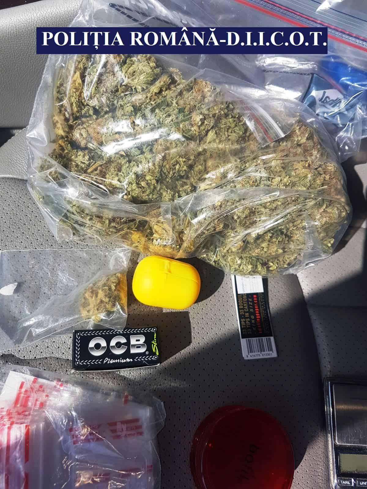 droguri ridicate in trafic