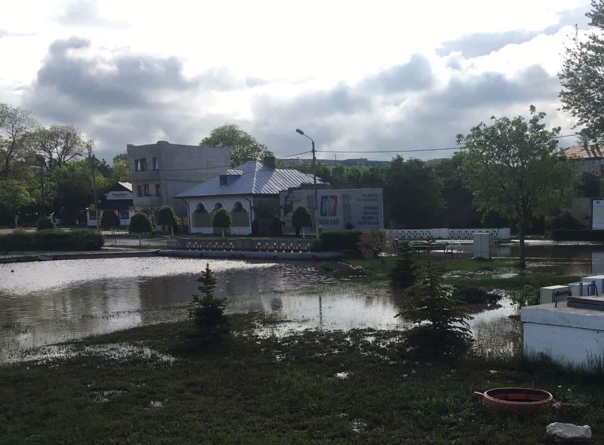 inundatii techirghiol