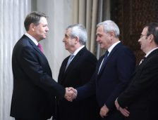 Sondaj CURS: Iohannis câștigă detașat al doilea mandat. Cât au Dragnea și Tăriceanu în intenția de vot