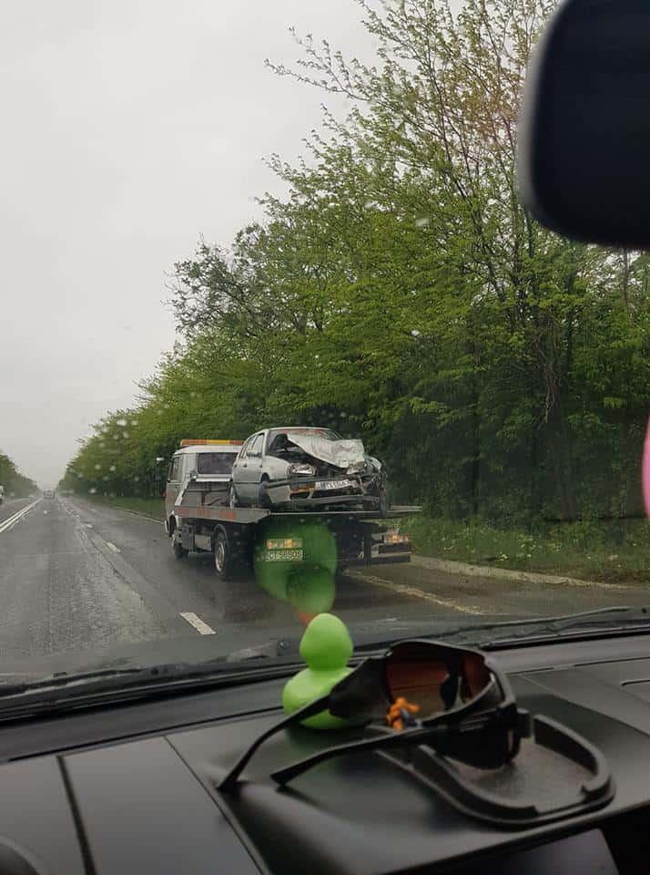 masina accident costinesti luata