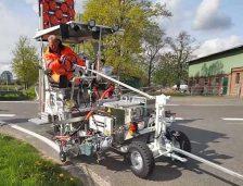 DRDP Constanța va primi un utilaj de marcaj rutier! La nivel național sunt 7 astfel de mașini
