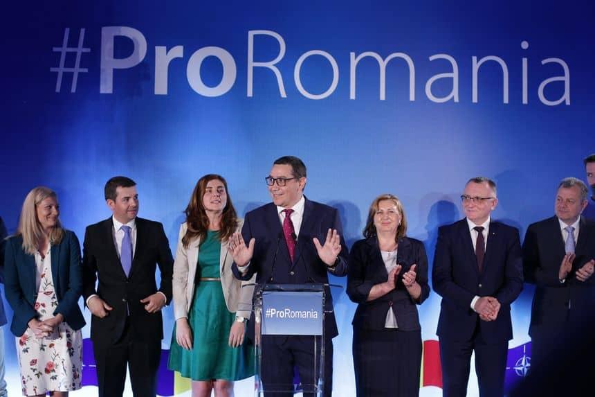 pro romania – lansare proiect ponta