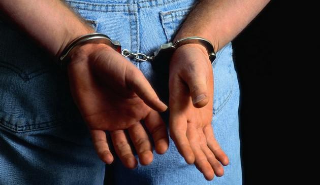 Handcuffed Suspect