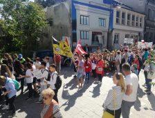(video) Constanța, de ziua ei. Carnaval cu daci și romani, fanfare militare și parada cluburilor sportive