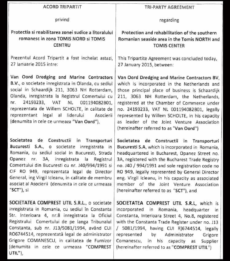 Acordul Tripartit Van Oord 1
